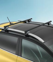 Багажник на дах сталевий (для а/м з рейлінгами)