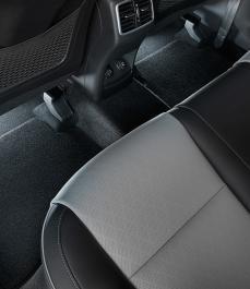 Підсвітка простору для ніг 2-й ряд (білий колір)